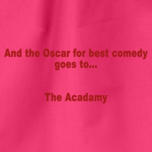 And the Oscar for best comedy goes to ... the Acada - Drawstring Bag
