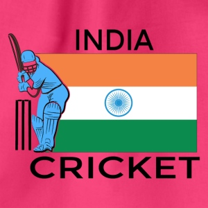 India Cricket Player Flag - Gymbag