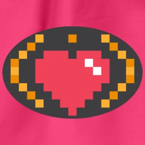 Digital Heart Isle by Isles of Shirts - Turnbeutel