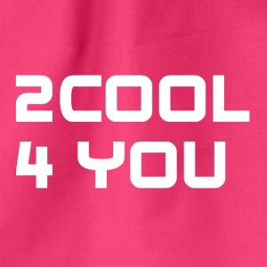 2COOL4YOU white - Turnbeutel
