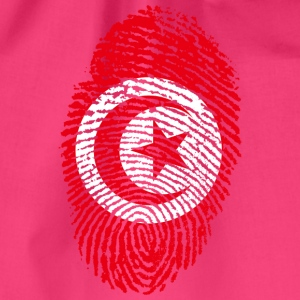 IN LOVE WITH TUNISIA - Drawstring Bag