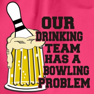 Bowling Ons Drinkend Team heeft Bowling Problem - Gymtas