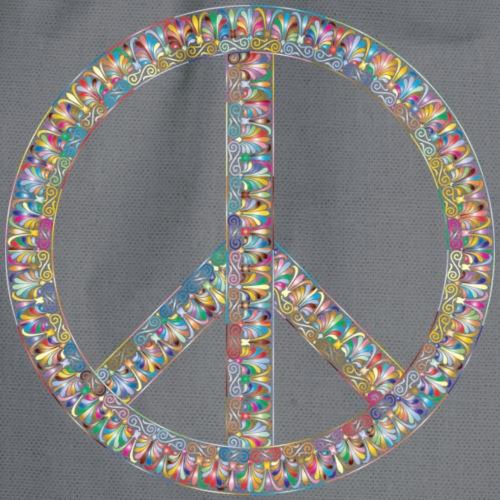 peace and love 4162281 1280 - Sac de sport léger