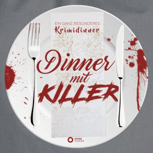 DINNER MIT KILLER - Turnbeutel