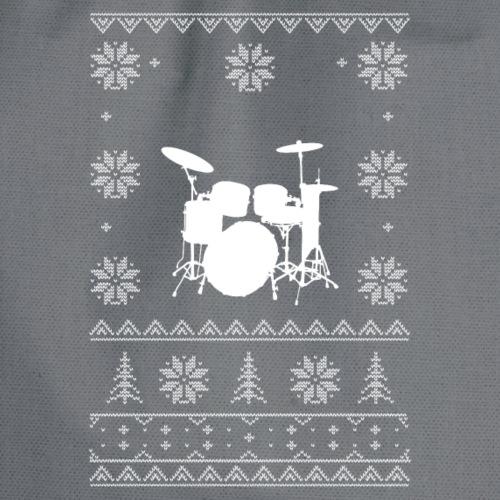 Ugly Xmas Drummer Design