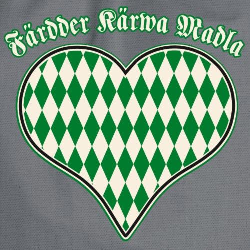 Faerdder Kaerwa Madla Herz - Turnbeutel