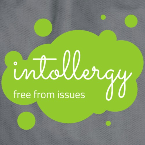 Logo green bubble background - Drawstring Bag