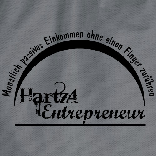 Hartz4 Entrepreneur - Turnbeutel