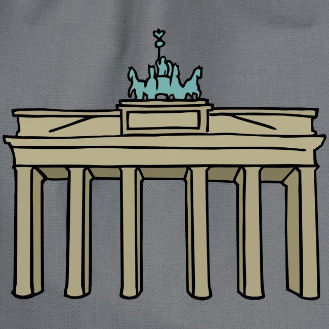 Porte de Brandebourg BERLIN c