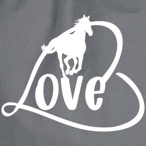 Pferde Liebe - Motiv für Reiter
