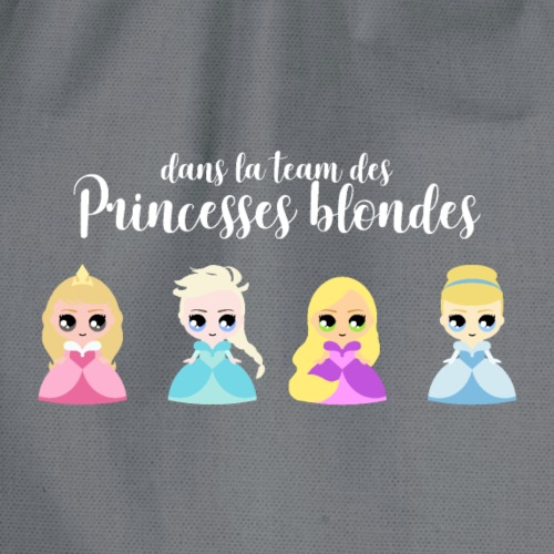 Team princesses blondes - Sac de sport léger