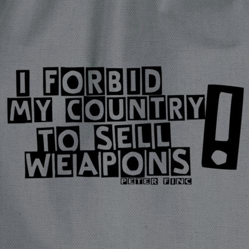 I Forbid Weapons black