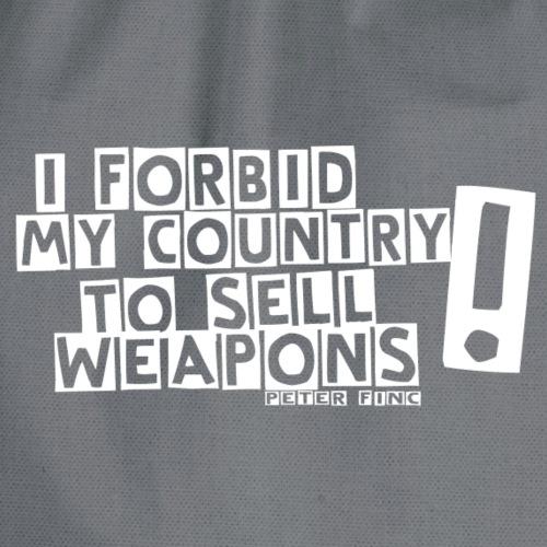 I Forbid Weapons white
