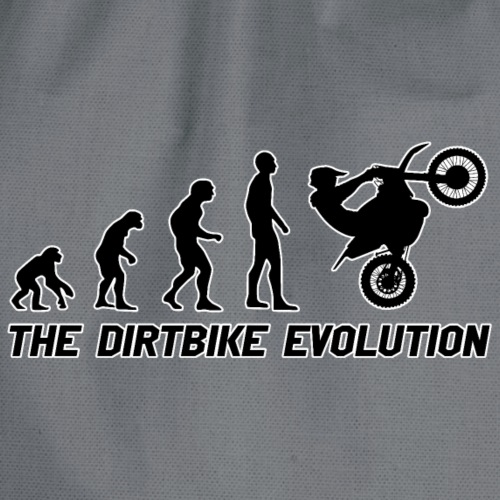 Dirtbike Evolution Black - Gymnastikpåse