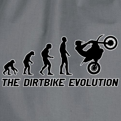 Dirtbike Evolution Black - Gymnastikpåse