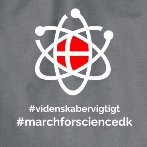 March for Science Danmark - Drawstring Bag