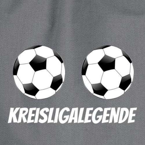 Kreisligalegende Damen Weiss Fußball Frauen - Turnbeutel