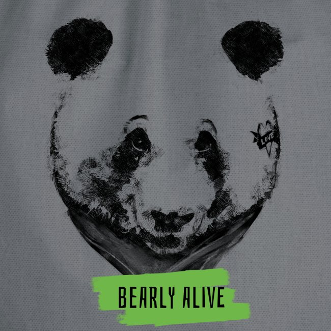 Panda bearly alive