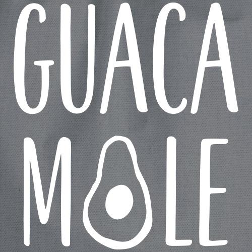 Guacamole Lettering - Turnbeutel