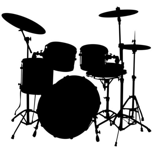 Bateria negro drums - Mochila saco