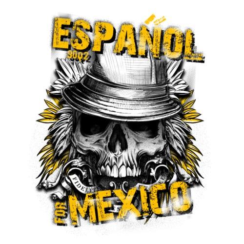 Spain 9002 Mexico Skull - Drawstring Bag