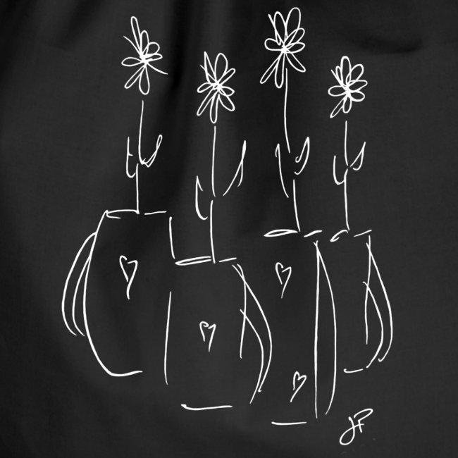 John's Flowers in White