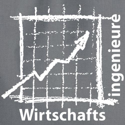 Wirtschaftsingenieure - weiss - Turnbeutel
