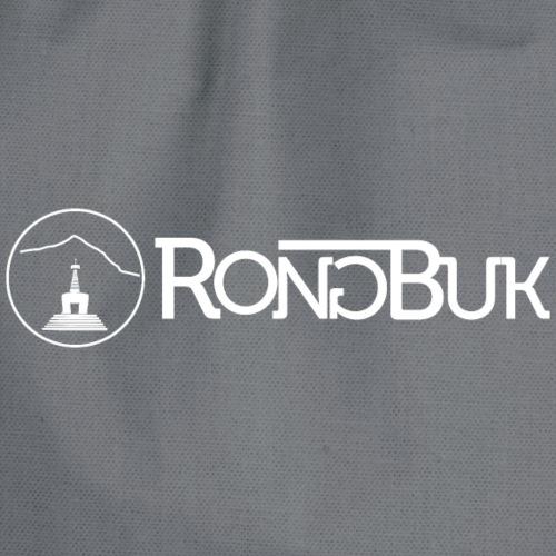 Rongbuk horizontal-White - Drawstring Bag
