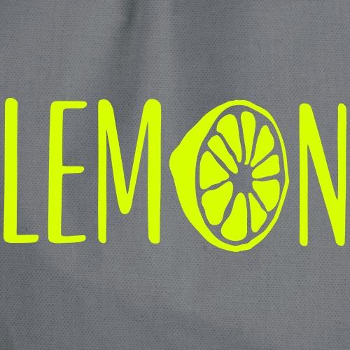 Lemon Lettering - Turnbeutel