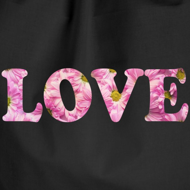 Love with tulipes