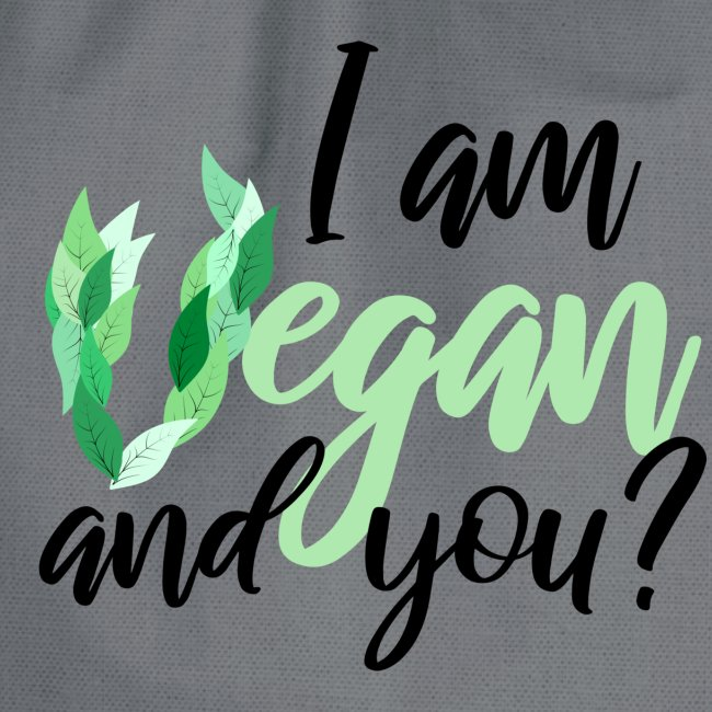 i am vegan and you