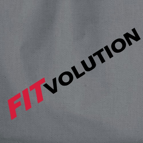 Großes, schwarzes Fitvolution-Logo