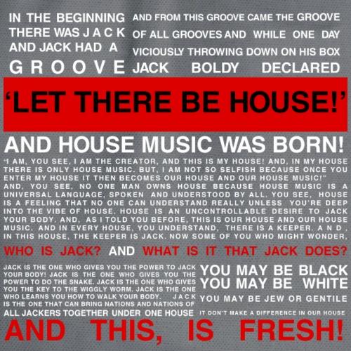 HOUSE MUSIC LOVERS - Drawstring Bag