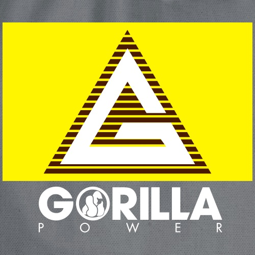 G wie Gorilla Power - Turnbeutel