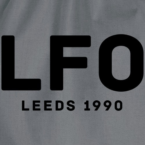 LFO Leeds 1990 - Drawstring Bag