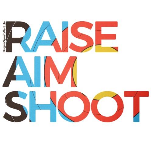 Raise Aim Shoot - Turnbeutel