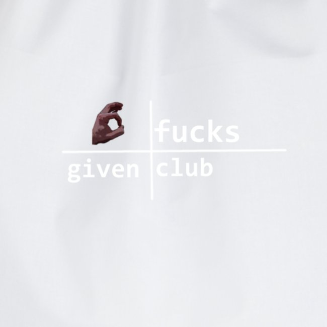 nofucksgiven schwarz