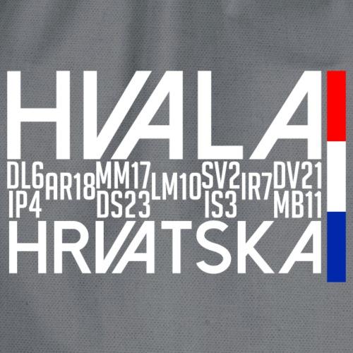 Hvala Dečki za 11.07.18 fan shirt Hrvatska - Turnbeutel