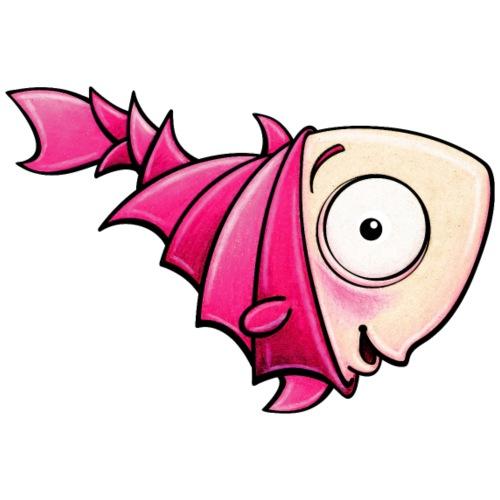 pink fish - Turnbeutel