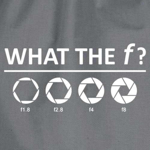 what the f? - Turnbeutel