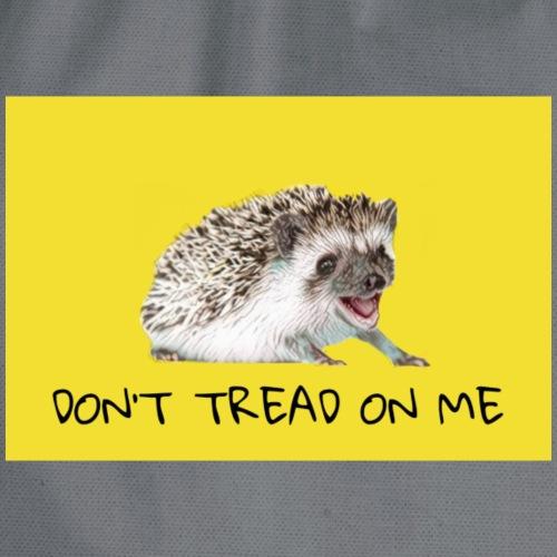 Libertarian hedgehog - Drawstring Bag