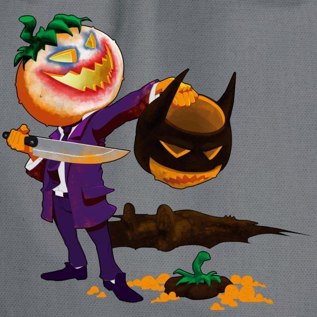 Bat man and Joker