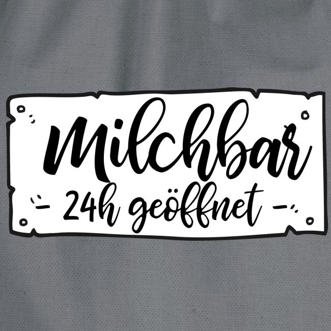 Milchbar 24h geöffnet