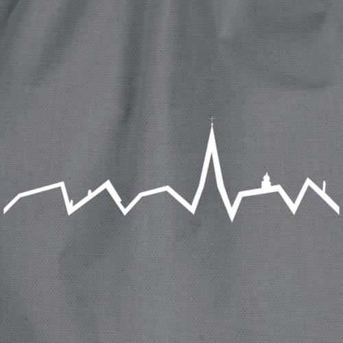 Heartbeat ohne Schriftzug - Turnbeutel