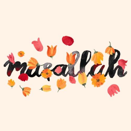A bloomy masallah - Turnbeutel
