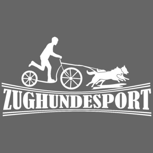 Zughundesport Sco oter Aufdruck weiss - Turnbeutel