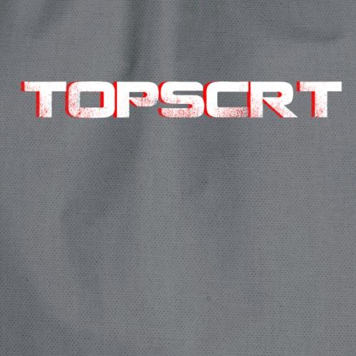 TOPSCRT_3Dwhite - Turnbeutel