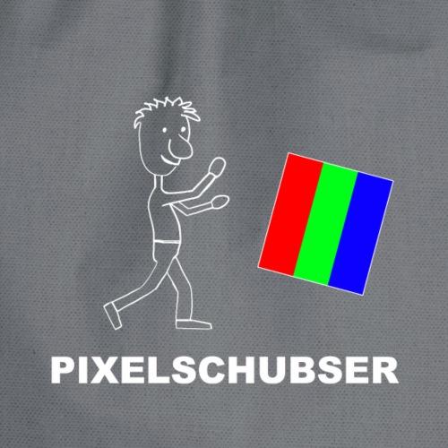 Pixelschubser_w - Turnbeutel