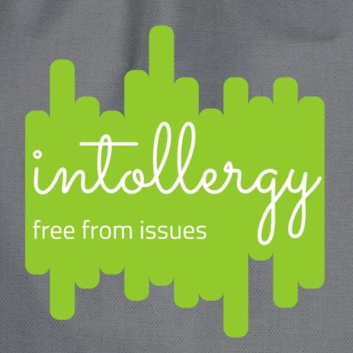 Logo green bar background - Drawstring Bag