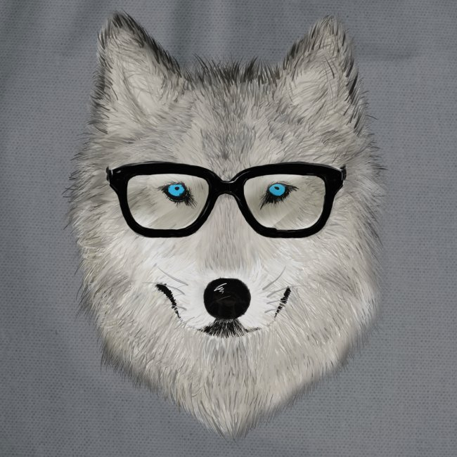 wild animal with glasses V02